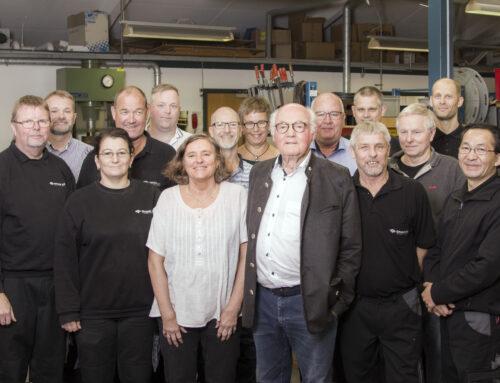 Gruber fejrer 40 års jubilæum