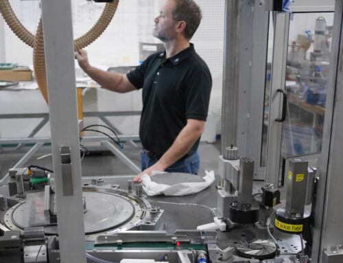GRUBER sparer kunde for millioner ved at ombygge maskine